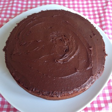 Yummy Egg-free Chocolate cake
